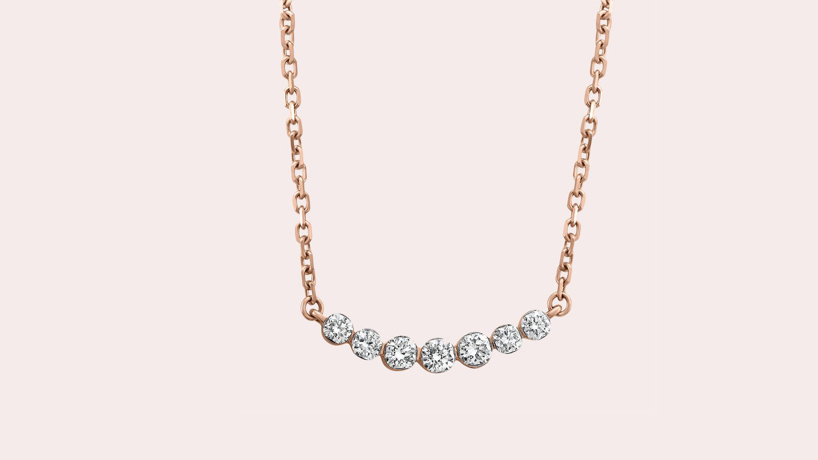 The Diamond Crescent Necklace