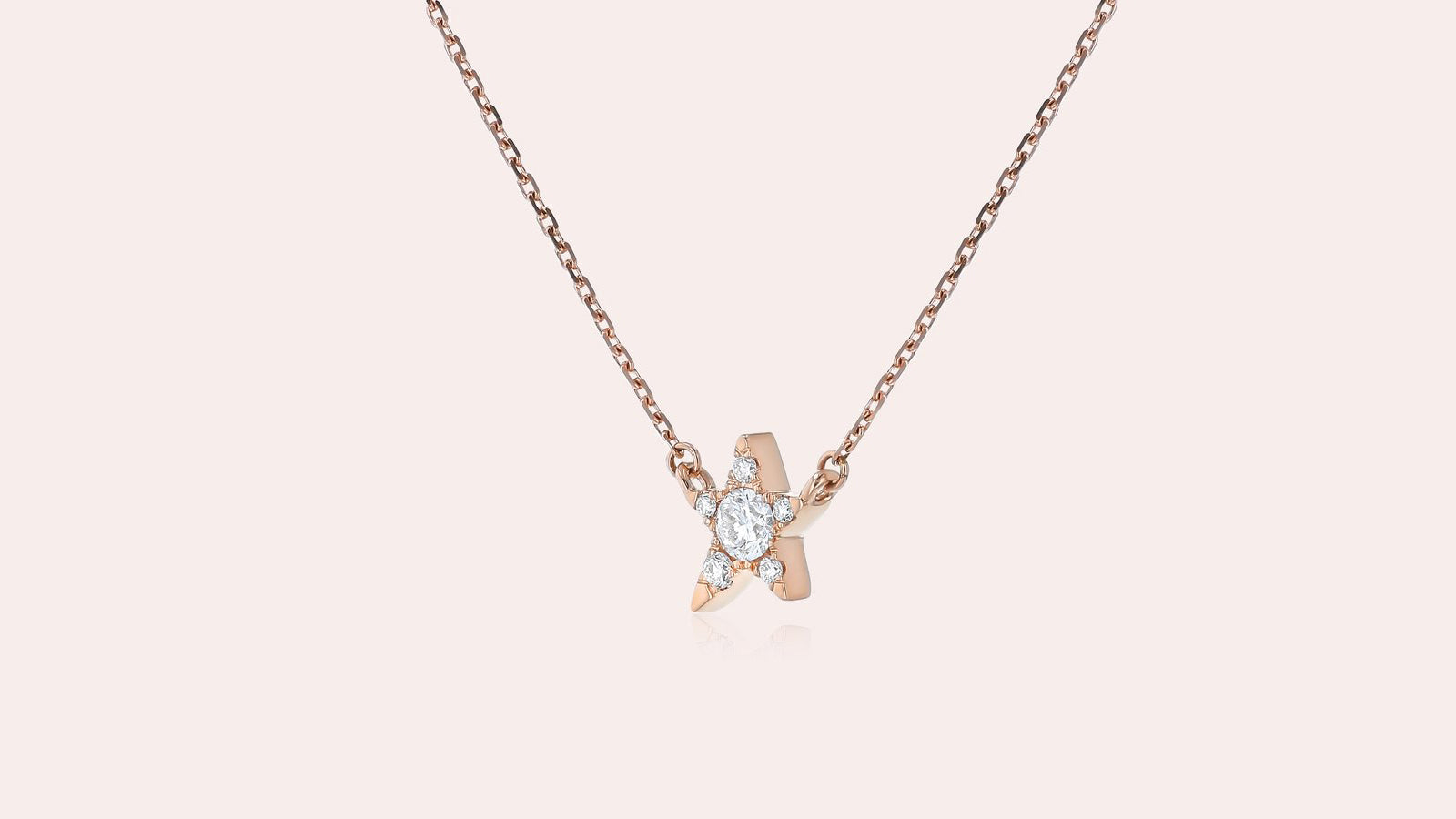 The Single Star Diamond Necklace