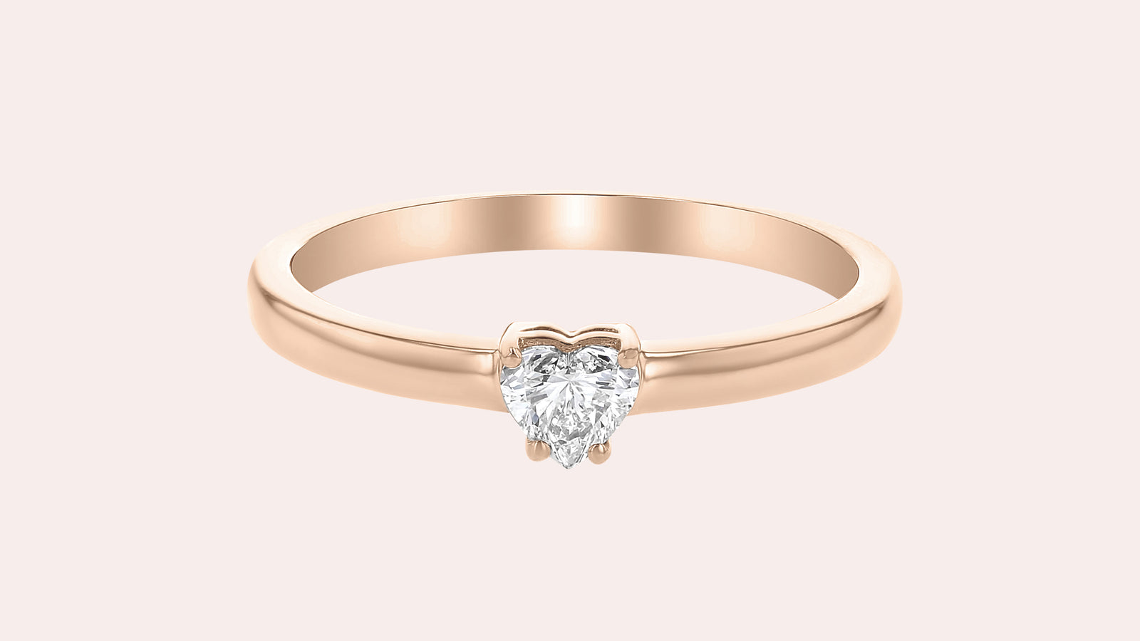 The Heart Shaped Diamond Ring