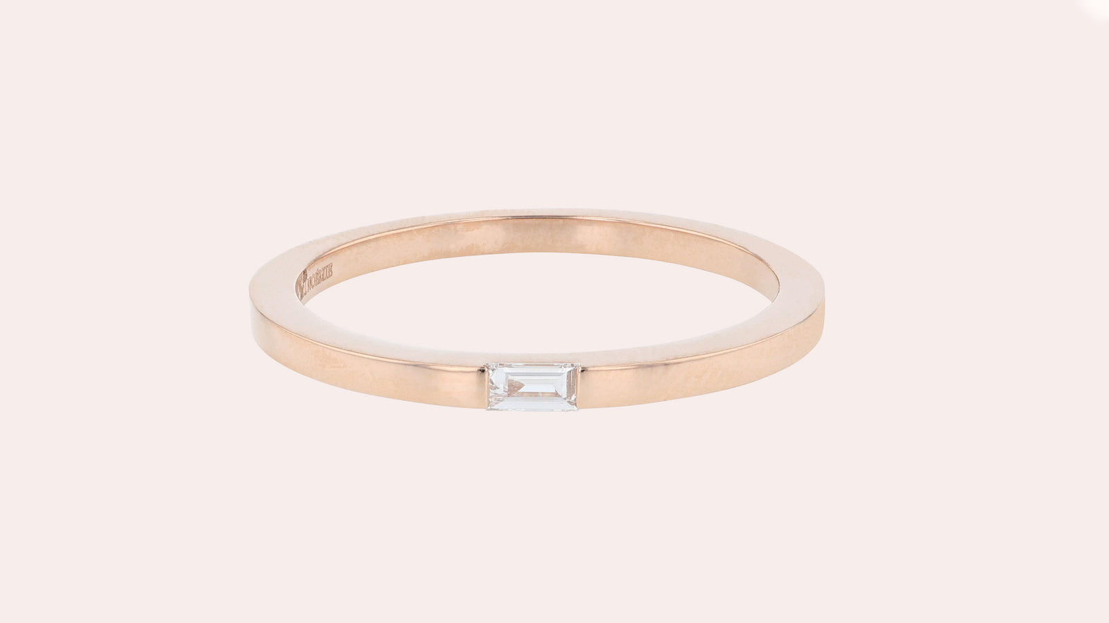 The Single Baguette Ring