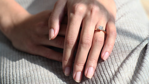 The Lab Grown Solitaire Ring