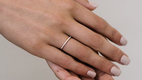 The Petite Diamond Band Ring