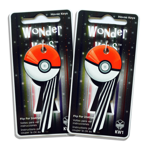 2 Anime Ball Shaped Wonder Keys!