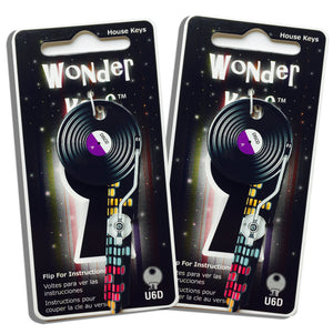 2 Record Player Shaped Wonder Keys!