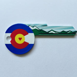Heart Colorado Shaped Wonder Key!
