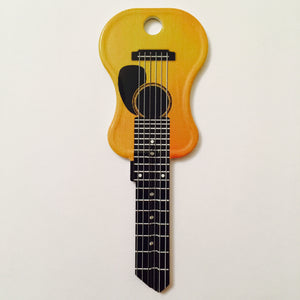 3 Acoustic Guitar Shaped Rockin' Keys