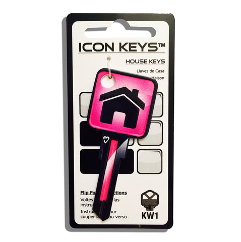Pink House Over Sized Head ICON Key