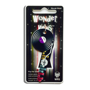 Record Player Shaped Wonder Key!