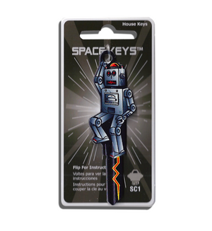 Robot Shaped Space Key! NEW!!!