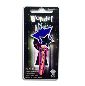 Purple Shooting Star Shaped Wonder Key!