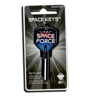 SPACE FORCE Shield Shaped Space Key! NEW!!!