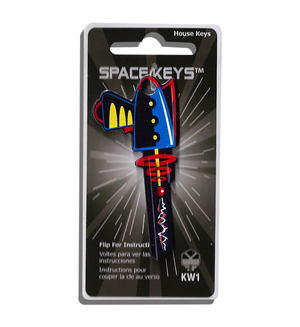 Space Gun Shaped Space Key! NEW!!!