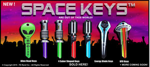 Full Current Set Space Keys - (7) Keys Total