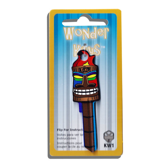Tiki Torch Shaped Wonder Key! NEW!!!