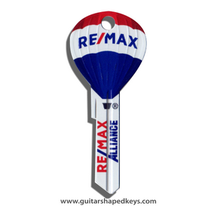 Special Order - 250 pcs. RE/MAX Hot Air Balloon Keys with Custom LOGO printing