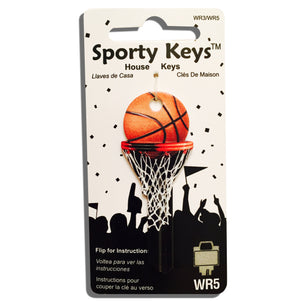 Basketball Shaped Sporty Key