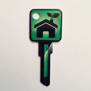 Green House Over Sized Head ICON Key