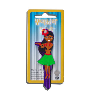 Hula Dancer Girl Shaped Wonder Key! NEW!!!