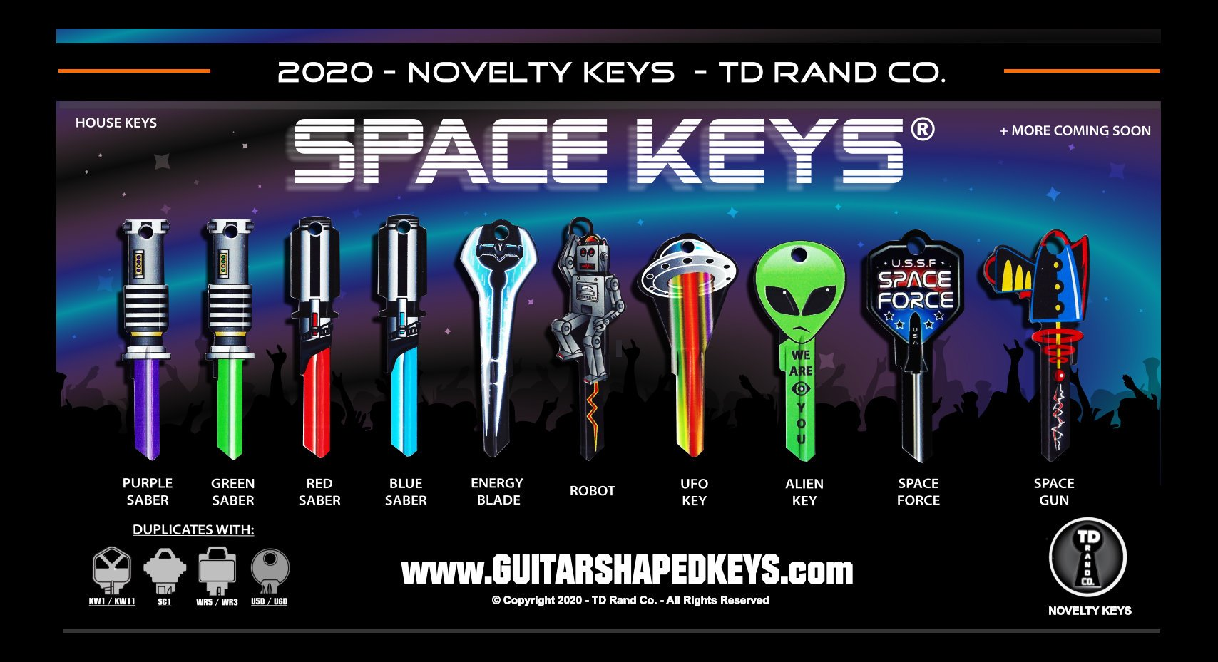 Rock Star Keys