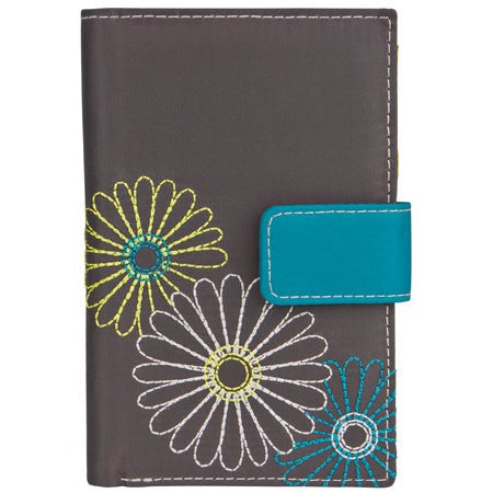 Travelon 23140 Pewter Daisy Trifold