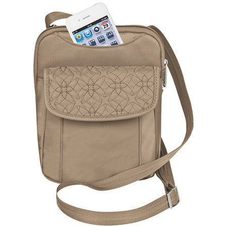Travelon 42759 Champagne AT Slim Pouch