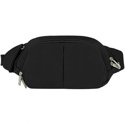 Travelon 42858 Black Slim Waistpack