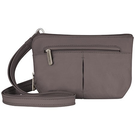 Travelon 42952 Mocha Convertible Crossbody
