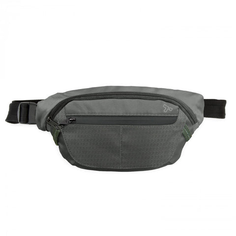 Travelon 43127 Charcoal Active Waist Pack