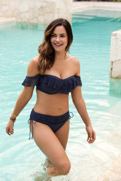 Marseille Twilight Blue Full Cup Bikini Top - Fantasie Swim