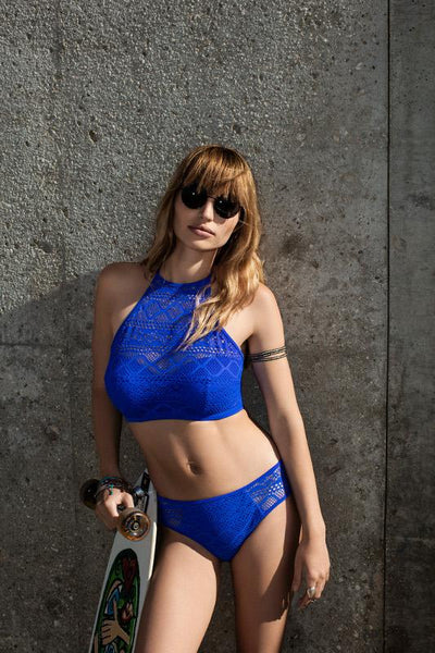 Freya-Swim-Sundance-Cobalt-Blue-High-Neck-Crop-Swim-Top-AS3973COT-Hipster-Brief-AS3976COT-Lifestyle