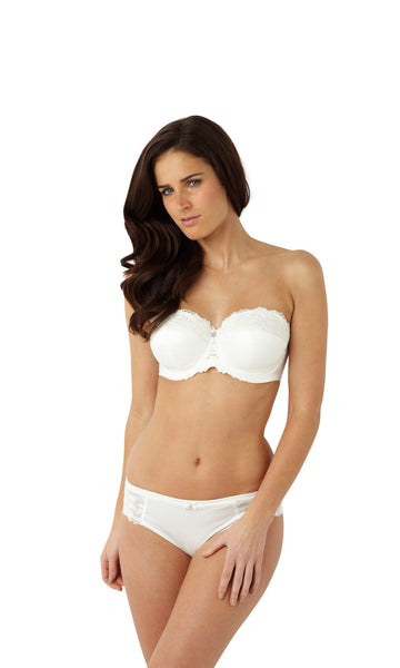 Masquerade-Lingerie-Serenity-Strapless-Bra-Ivory-7530-Brief-7532-Front