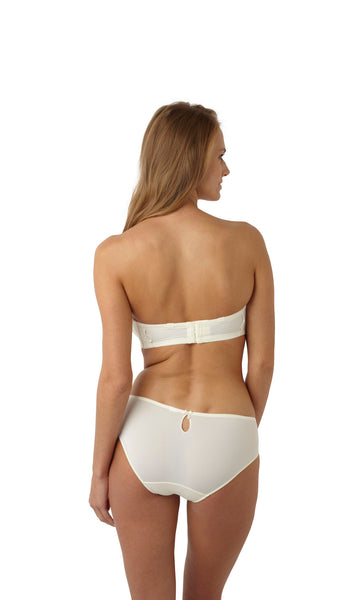 Panache-Lingerie-Evie-Bridal-Strapless-Bra-Ivory-6110-Brief-6112-Back