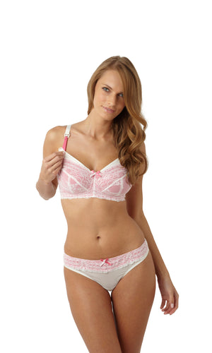Panache-Lingerie-Sophie-Nursing-Bra-Ivory-Pink-5821-Thong-5829-Front