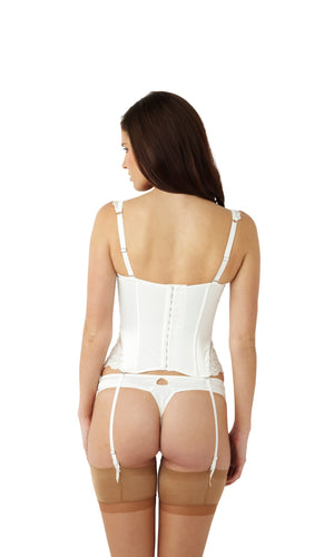 Masquerade-Lingerie-Serenity-Bridal-Basque-Ivory-Straps-7537-Thong-7539-Back