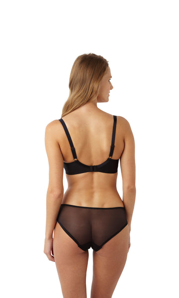 Panache-Lingerie-Porcelain-Viva-Moulded-T-Shirt-Bra-Black-6071-Brief-6072-Back