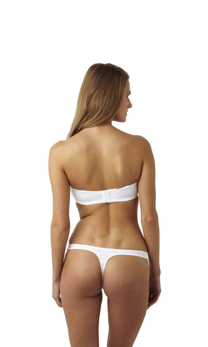 Panache-Lingerie-Porcelain-Moulded-Strapless-Bra-White-3370-Thong-3379-Back