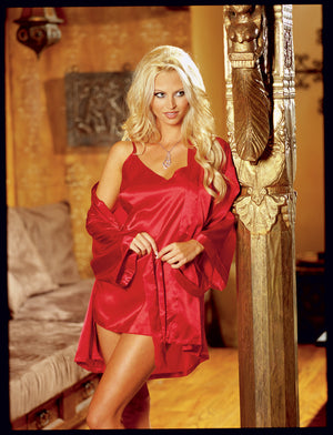 Dreamgirl-Lingerie-Charmeuse-Robe-Babydoll-Red-DG3717R