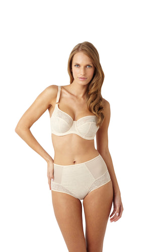 Panache-Lingerie-Idina-Balconette-Bra-Latte-6961-High-Waisted-Brief-6965-Front