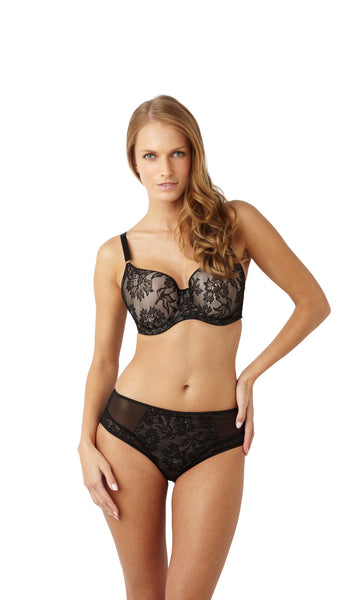 Panache-Lingerie-Idina-Moulded-T-Shirt-Bra-Black-6968-Brief-6962-Front