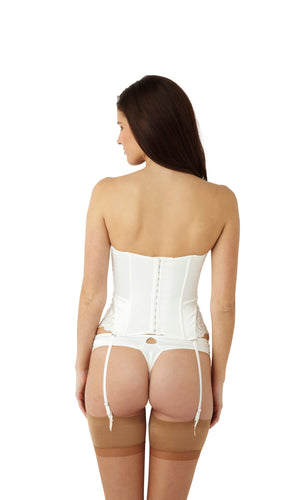 Masquerade-Lingerie-Serenity-Bridal-Basque-Ivory-7537-Thong-7539-Back