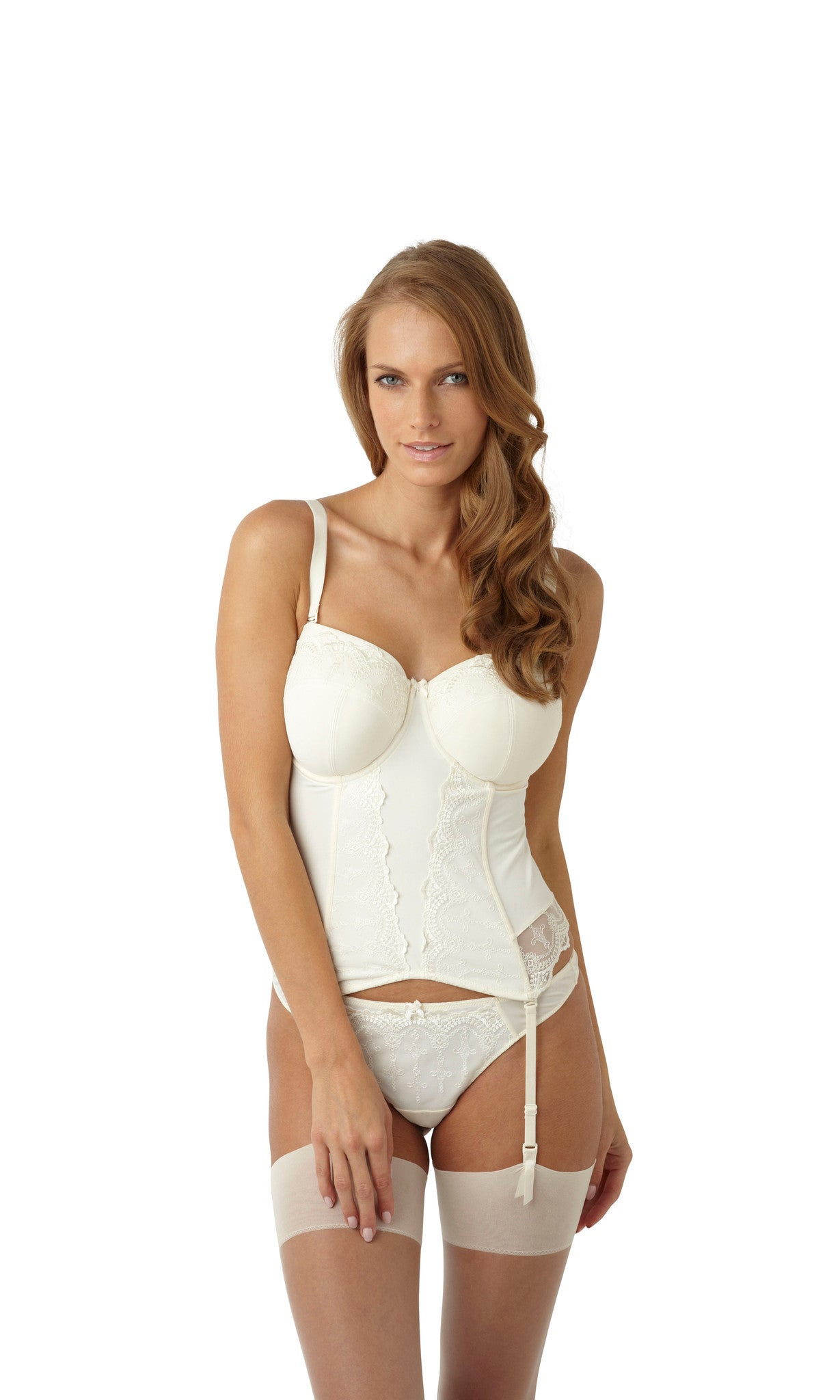 0719f7ef8 Panache-Lingerie-Evie-Bridal-Basque-Ivory-6117-Thong-