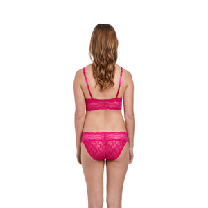 Btemptd-Lingerie-Lace-Kiss-Pink-Peacock-Bralette-WB910182621-Bikini-Brief-WB978182621-Back