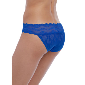 Btemptd-Lingerie-Lace-Kiss-Surf-Web-Blue-Bikini-Brief-WB978182475-Back