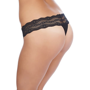 Btemptd-Lingerie-Night-Black-B-Adorable-Thong-WB933182004-Back