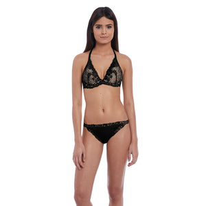 Btemptd-Lingerie-Night-Black-Insta-Ready-Plunge-Contour-Bra-WB953229004-Thong-WB976229004-Front
