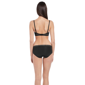Btemptd-Lingerie-Night-Black-Tied-In-Dots-Contour-Bra-WB953228004-Bikini-Brief-WB978238004-Back