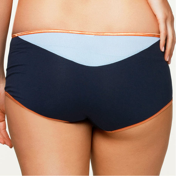 Cake-Lingerie-Orange-Zest-Maternity-Sports-Brief-Boy-Short-Back