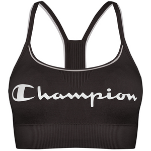 Champion-Seamless-Crop-Top-Sweatshirt-Bra-Black-Y08QZ3AM