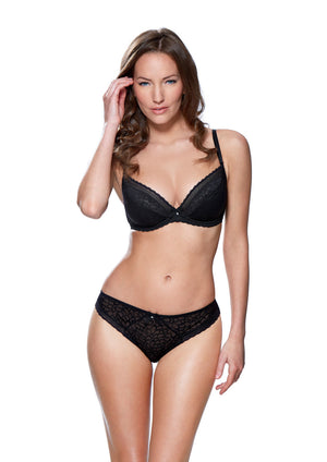 Charnos-Lingerie-Kate-Black-Plunge-Bra-149902BLK-Brief-149910BLK