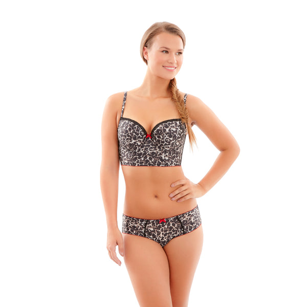 Cleo-Lingerie-Breeze-Leopard-Animal-Print-Longline-Bra-9025-Brief-9022-Front
